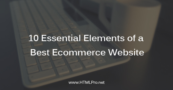 essential elements of best ecommerce website